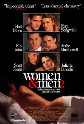 Women & Men 2 - 43 x 62 Movie Poster - Bus Shelter Style A