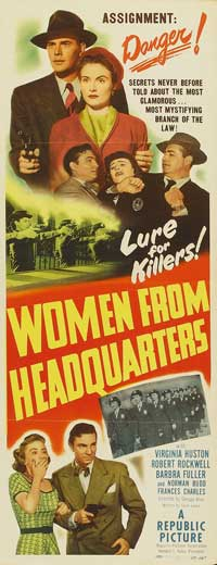 Women from Headquarters - 11 x 17 Movie Poster - Style A