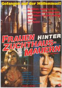 Women in Cages - 11 x 17 Movie Poster - German Style A