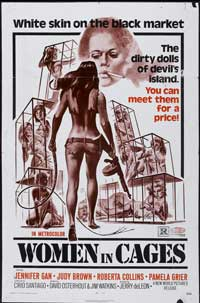 Women in Cages - 43 x 62 Movie Poster - Bus Shelter Style A