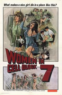 Women in Cell Block 7 - 11 x 17 Movie Poster - Style A