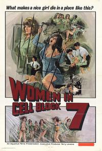 Women in Cell Block 7 - 27 x 40 Movie Poster - Style A