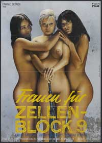 Women in Cellblock 9 - 11 x 17 Movie Poster - German Style A