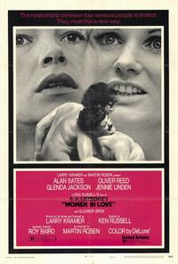 Women in Love - 27 x 40 Movie Poster - Style B