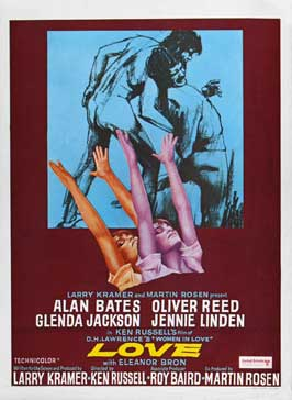 Women in Love - 11 x 17 Movie Poster - Belgian Style A