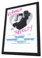 Women in Revolt - 11 x 17 Movie Poster - Style A - in Deluxe Wood Frame