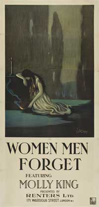 Women Men Forget - 14 x 30 Movie Poster - Style A