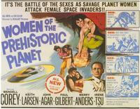 Women of the Prehistoric Planet - 11 x 14 Movie Poster - Style C