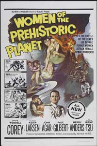 Women of the Prehistoric Planet - 11 x 17 Movie Poster - Style A