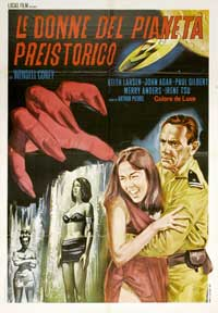 Women of the Prehistoric Planet - 27 x 40 Movie Poster - Italian Style A
