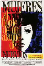 Women on the Verge of a Nervous Breakdown - 27 x 40 Movie Poster - Spanish Style C