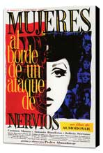 Women on the Verge of a Nervous Breakdown - 27 x 40 Movie Poster - Spanish Style C - Museum Wrapped Canvas