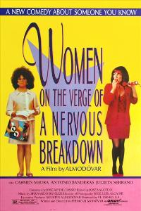 Women on the Verge of a Nervous Breakdown - 27 x 40 Movie Poster - Spanish Style B