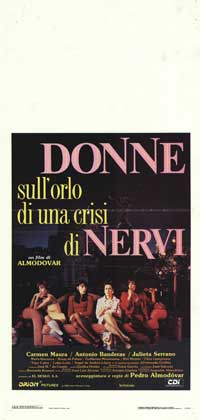 Women on the Verge of a Nervous Breakdown - 13 x 28 Movie Poster - Italian Style A
