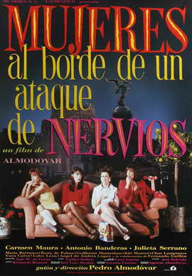 Women on the Verge of a Nervous Breakdown - 27 x 40 Movie Poster - Spanish Style D