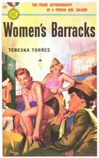 Women's Barracks - 11 x 17 Retro Book Cover Poster