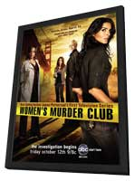 Women's Murder Club (TV) - 11 x 17 TV Poster - Style A - in Deluxe Wood Frame
