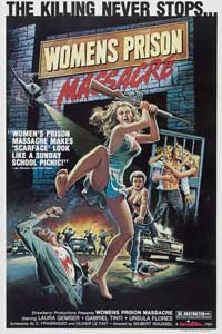 Women's Prison Massacre - 43 x 62 Movie Poster - Bus Shelter Style A