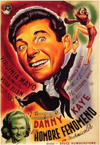 Wonder Man - 11 x 17 Movie Poster - Spanish Style A