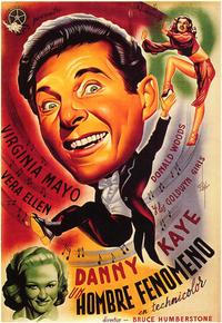 Wonder Man - 27 x 40 Movie Poster - Spanish Style A