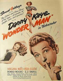 Wonder Man - 11 x 17 Movie Poster - Style A