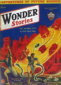 Wonder Stories - 11 x 17 Pulp Poster - Style A