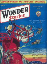 Wonder Stories - 11 x 17 Pulp Poster - Style B
