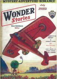 Wonder Stories - 11 x 17 Pulp Poster - Style C