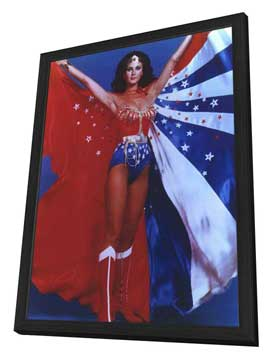 Wonder Woman - 22 x 28 TV Poster - Style A - in Deluxe Wood Frame