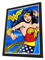 Wonder Woman - 11 x 17 Poster - Style A - in Deluxe Wood Frame