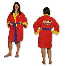 Wonder Woman - Fleece Bath Robe