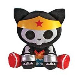 Wonder Woman - DC Heroes Skelanimals Kit the Cat 12-Inch Plush