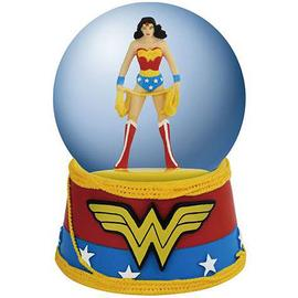 Wonder Woman - Logo Water Globe