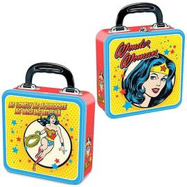 Wonder Woman - Square Tin Tote