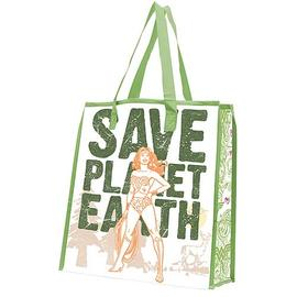 Wonder Woman - Save Planet Earth Reusable Shopping Tote
