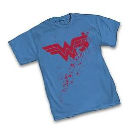 Wonder Woman - Splatter Symbol T-Shirt