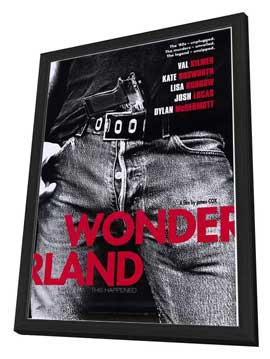 Wonderland - 27 x 40 Movie Poster - Style A - in Deluxe Wood Frame