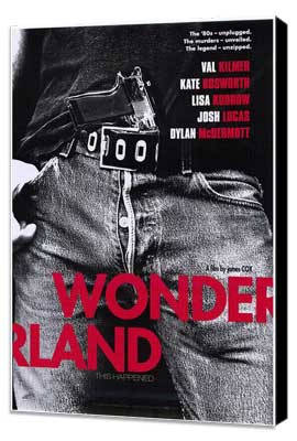 Wonderland - 27 x 40 Movie Poster - Style A - Museum Wrapped Canvas