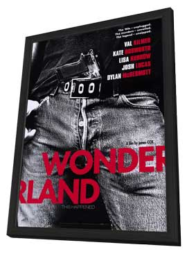 Wonderland - 11 x 17 Movie Poster - Style A - in Deluxe Wood Frame