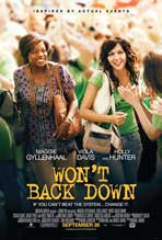 Won't Back Down - 11 x 17 Movie Poster - Style A