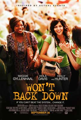 Won't Back Down - DS 1 Sheet Movie Poster - Style A