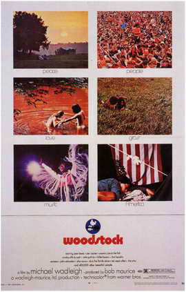 Woodstock - 11 x 17 Movie Poster - Style A