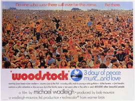 Woodstock - 11 x 17 Movie Poster - Style D