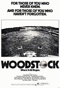 Woodstock - 27 x 40 Movie Poster - Style A