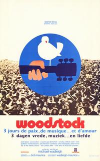 Woodstock - 11 x 17 Movie Poster - Belgian Style A