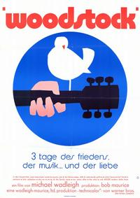 Woodstock - 11 x 17 Movie Poster - German Style A