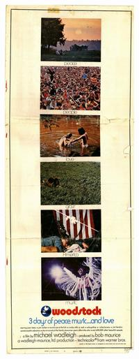 Woodstock - 14 x 36 Movie Poster - Insert Style A