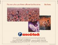 Woodstock - 22 x 28 Movie Poster - Half Sheet Style A