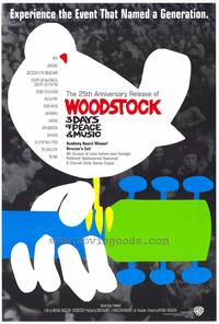 Woodstock - 43 x 62 Movie Poster - Bus Shelter Style A