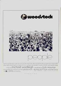 Woodstock - 11 x 17 Movie Poster - Style F